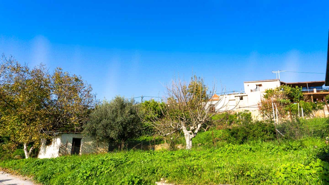 Plot for sale in Kirtomados, Therissos. Discover a good property to buy near Agia Lake, Chania.